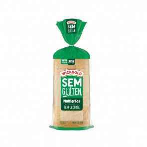 Pao S/Gluten e S/Lactose Multigraos Wickbold 300g