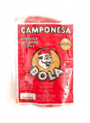 Linguiça Camponesa Suave Bola Pacote Un.