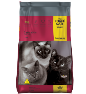 Alimento p/ Gatos Three Cats Original 1kg