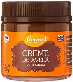 Creme de Avelã c/ Cacau Zero Flormel 150g