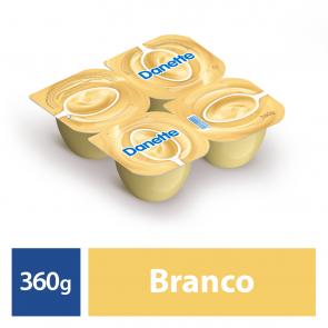 Iogurte Danette Chocolate Branco 360g