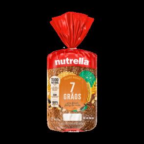 Pão 7 grãos  Nutrella 450g