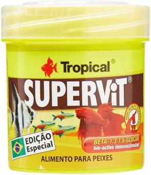 Ração para Peixes  Tropical Supervit Flak 12g