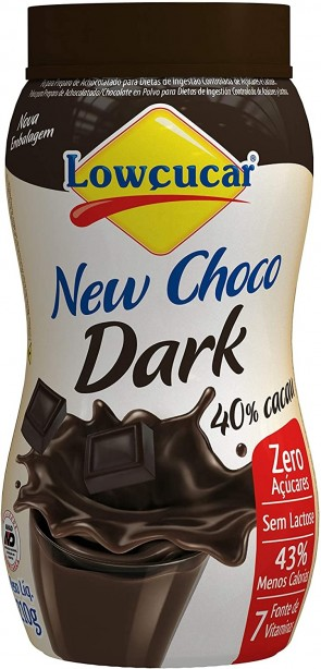 Achocolatado Lowçucar Dark Diet 210g