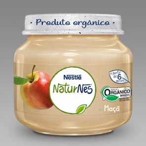 Alimento Infantil Nestlé Maça Orgânico 120g