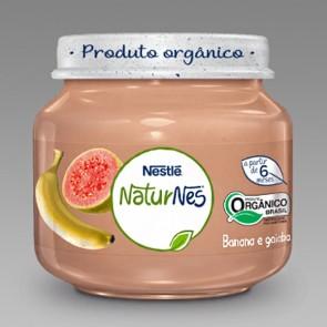 Alimento Infantil Nestlé Banana e Goiaba Orgânico 120g