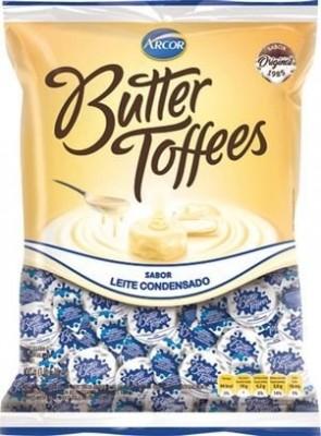 Bala Butter Toffees Leite Condensado Arcor 100g