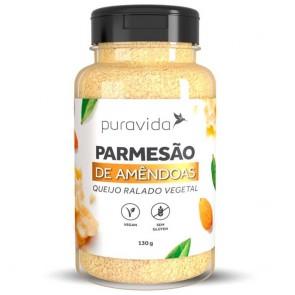 Queijo Parmesão Ralado de Amêndoas Vegano PuraVida 130g