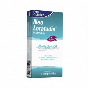 Neo Loratadin 10mg 12 Comprimidos