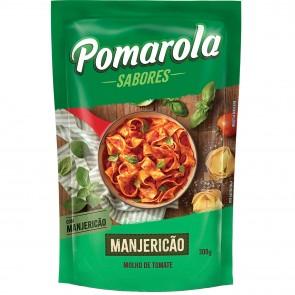 Molho Pomarola Toque Caseiro Manjericão 300g