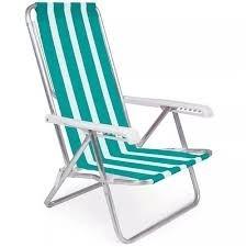 Cadeira 8 Posições Alumínio MOR