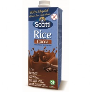 Bebida Arroz / Cacau  Scotty 1L