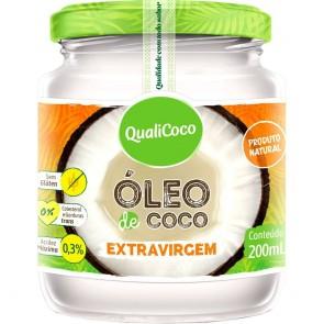 Óleo de Coco Extravirgem Qualicoco 200ml