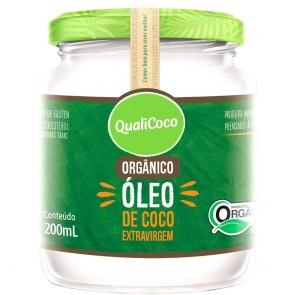 Oleo de Coco Qualicoco Extravirgem Organico 200ml