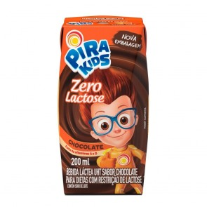Achocolatado Liquido Z.Lactose Piracanjuba 200ml