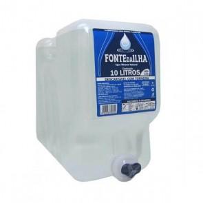 Água Fonte da Ilha sem gás 10 litros