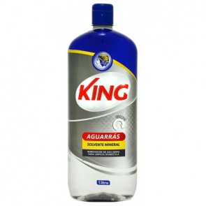 Aguarrás Solvente Mineral King 1L