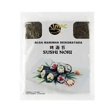 Algas mar Sushi Nori Gold 10 folhas 28g