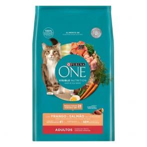 Alimento p/ Gatos Purina One Frango/Salmão 2kg