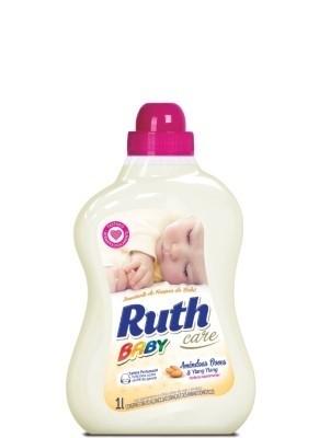 Amaciante Líquido Baby Amêndoa e Ylang Ylang Ruth Care 1L