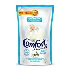 Amaciante Concentrado Comfort Puro Cuidado sache 900ml