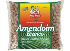 Amendoim Branco Premium Fritz & Frida 500g