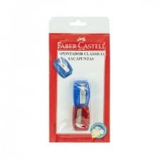 Apontador Clássico c/2 Faber-Castell