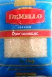 Arroz parboilizado Premium DeMello 5kg