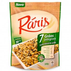 Arroz Ráris 7 Grãos Integrais 500g