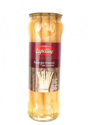 Aspargo Branco Capellini 200g