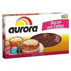 Bacon em Fatias Aurora 250g