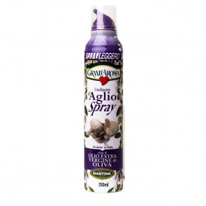 Azeite Extra Virgem Italiano Alho Mantova Spray Leggero 200ml