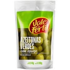 Azeitona Verde C/C Vale Fértil 150g