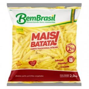 Batata Palito Tradicional Bem Brasil 2kg