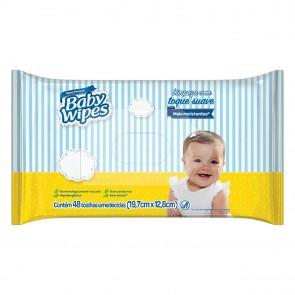 Lenço Umedecido Baby Wipes C/48un