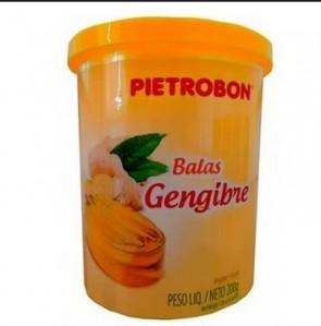 Bala Gengibre Pietrobon 200g