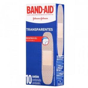 Band Aid Transparente 10unid.