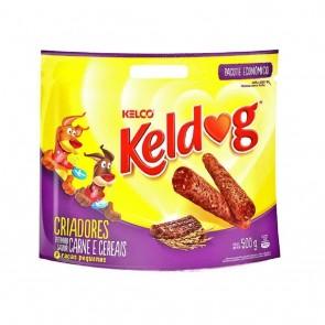 Bifinhos Keldog Mini Criador Sabor Carne e Cereais 500g