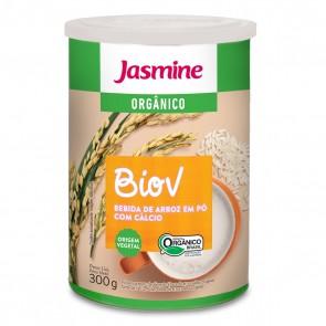 Leite em Pó Jasmine BioV Orgânico Arroz + Cálcio 300g