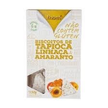 Biscoito de Tapioca Linhaça/Amaranto Flom 50g