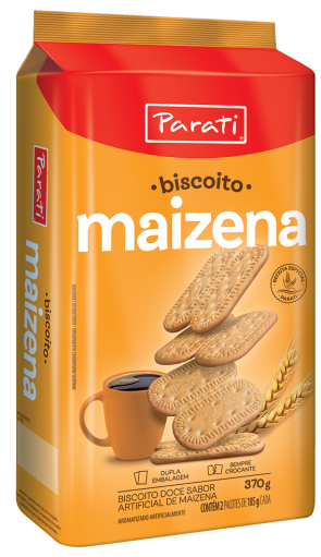 Biscoito Maizena Parati 370g