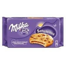 Biscoito Milka Sensations 156g