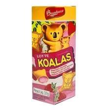 Biscoito Morango Koala Bauducco 37g