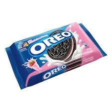 Biscoito Oreo Recheio Milkshake Morango144g