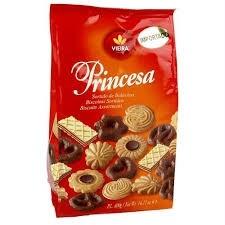 Biscoito importado Sortido Princesa Vieira 400g