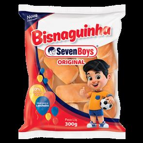 Bisnaguinha Tradicional Seven Boys 300g