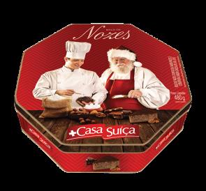 Bolo de Nozes de Natal Lata Casa Suíça 480g