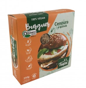 Hambúrguer CEN/QUI Orgânico 100%Vegetal Tensei 250g