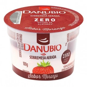 Sobremesa Danubio Morango Zero Açúcar 100g