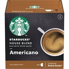 Café Starbucks House Blend Rich With Toffee Americano